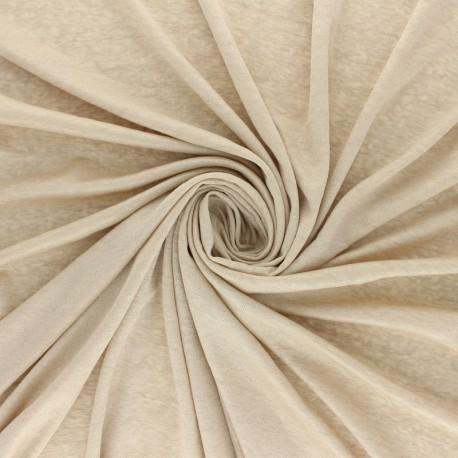 Tissu Jersey Lurex Glitter - Sable x 10cm