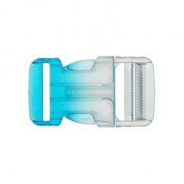 Boucle Sac à dos 30mm - transparent/blanc