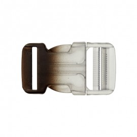 Side Release Buckle - Transparent/blue