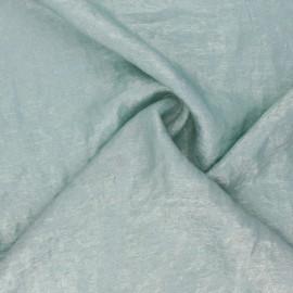 Tissu lamé Vicky - vert clair x 10cm