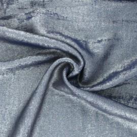 Tissu lamé Vicky - bleu x 10cm