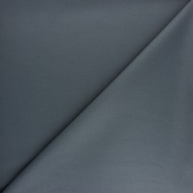 Plain gabardine bamboo fabric - chocolate x 10 cm