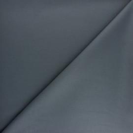 Tissu gabardine bambou uni - chocolat x 10 cm