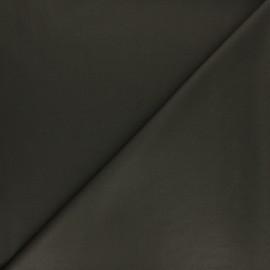 Tissu gabardine bambou uni - kaki x 10 cm