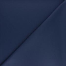 Plain gabardine bamboo fabric - petrol x 10 cm