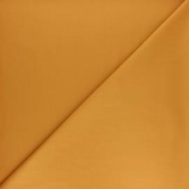 Tissu gabardine bambou uni - curcuma x 10 cm