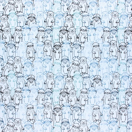AGF cotton fabric - Snuggery Breeze Pine Lullaby x 10cm