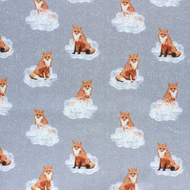 AGF Cotton fabric - Earthen Foxnest Haze  x 10cm