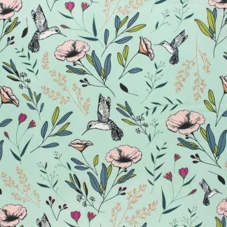 AGF Cotton fabric - Magic Fauna Mirage Mystical Land  x 10cm