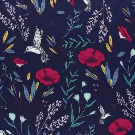 AGF Rayon fabric - Mystical Land  - Magic Fauna Mystique  x 10cm