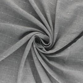 Tissu twill viscose lurex Emmy - gris x 10 cm