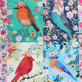 Blend Fabrics Cotton Fabric -Birdie Collection x 15cm