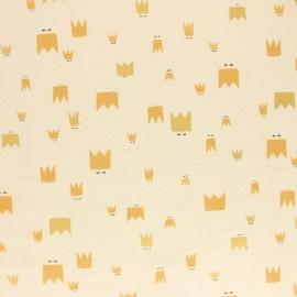 Cotton + Steel cotton fabric - Raw Dear Friend Royal Folk x 10cm
