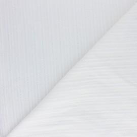 Tissu Voile de coton Florette - écru x 10cm