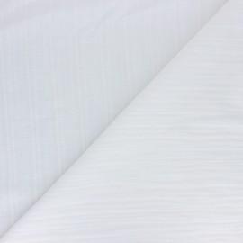 Tissu Voile de coton Lynette - blanc x 10cm