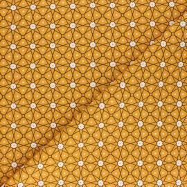 Tissu coton cretonne Persia - Safran x 10cm