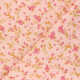 Ornements Gris-Blanc Fleurs De Coton Coton-Pression