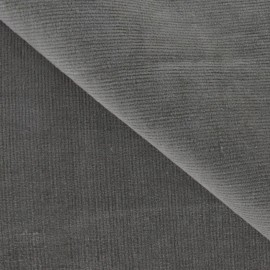 Milleraies elastane velvet fabric  - havana x10cm