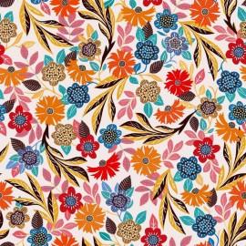 Tissu Rayonne Dashwood studio Gardenia B - blanc x 10cm