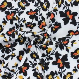 Tissu Lycra by Penelope® Amy - blanc x 10cm