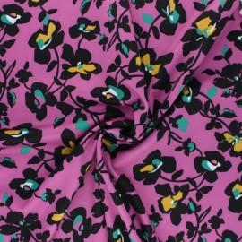 Tissu Lycra by Penelope® Amy - violet x 10cm