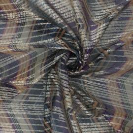 Lurex Knitted fabric - purple Jenny x 50cm