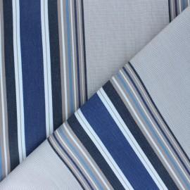 Tissu Toile extérieur Sunny Le Croisic - Bleu x 10cm
