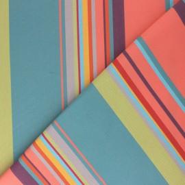 Tissu toile Plein Air Dralon® Calvi (320cm) - Corail x 10cm
