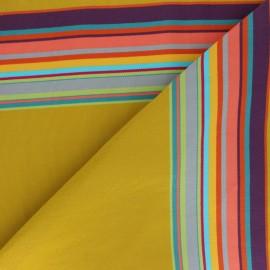 Tissu Toile Transat Playa Palavas - Miel x 10cm