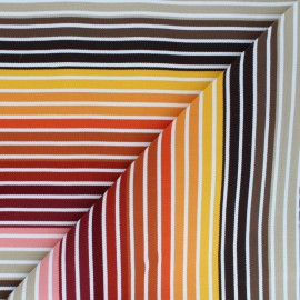 Tissu Toile Transat Playa Monaco - multicolore x 10cm