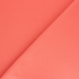 Tissu Toile Transat Playa uni - Corail x 10cm