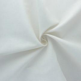 Tissu coton cretonne BIO - Naturel x 10cm