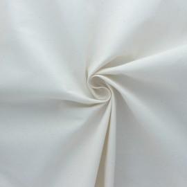 Tissu toile coton BIO - Naturel x 10cm