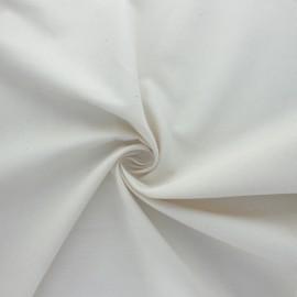 Tissu Satinette BIO - naturel x 10cm
