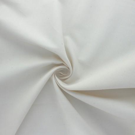 BIO satinette fabric - natural x 10cm