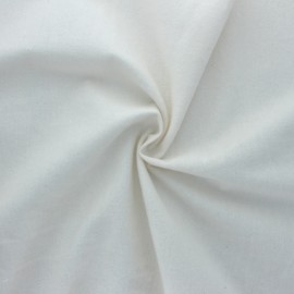 Organic flannel Fabric - natural x 10cm