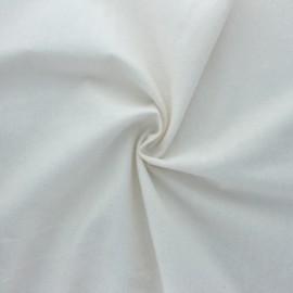 Tissu Flanelle BIO - naturel x 10cm