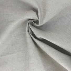 Tissu toile de lin pailletée Linda  - doré x 10cm