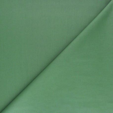 Tissu Popeline - vert olive x10 cm
