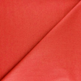 Poplin Fabric - red poppy x 10cm