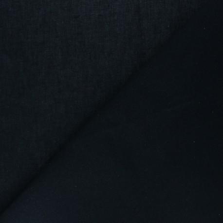 Hot-melt canvas covering – black Théo x 10cm
