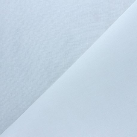Hot-melt canvas covering – white Théo x 10cm
