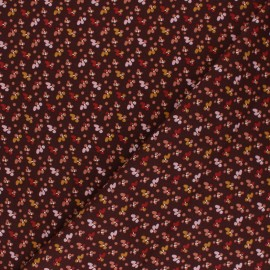 Domotex Viscose Fabric - plum Fida x 10cm