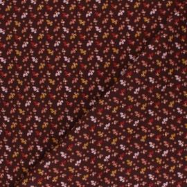 Tissu viscose Fida -  prune x 10cm