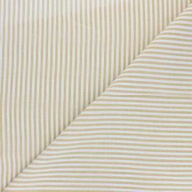 Tissu voile coton viscose Pyla - jaune x 10cm