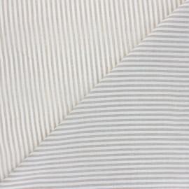 Tissu voile coton viscose Pyla - beige x 10cm