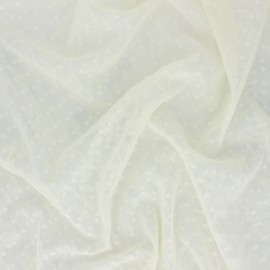 Tulle fabric - cream Millie x 10 cm