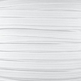 Elastique masque 7 mm - Blanc (bobine)