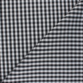 Checked gingham fabric - red Suzanne x 10cm