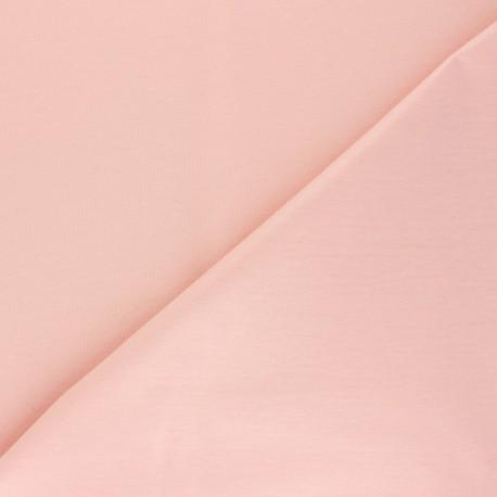 Tissu PUL jersey uni - rose poudré x 10cm
